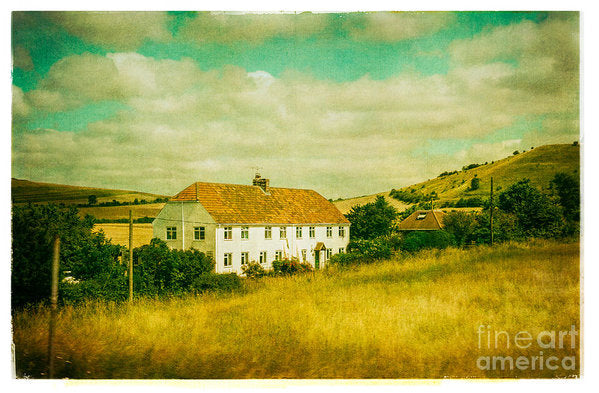 Countryside Homestead - Art Print