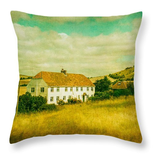 Countryside Homestead - Throw Pillow