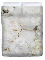 Load image into Gallery viewer, Full Peonies - Duvet Cover