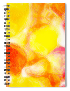 Fun Jelly Abstract Close Up  - Spiral Notebook