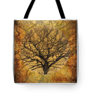 Golden Autumnal Trees - Tote Bag