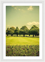 Load image into Gallery viewer, Hampton Court Palace Gardens Summer Colours - Framed Print