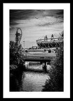 Load image into Gallery viewer, London Olympic Stadium and Sculpture 2013 - Framed Print