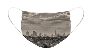 London Town seen from Alexandra Palace - Face Mask