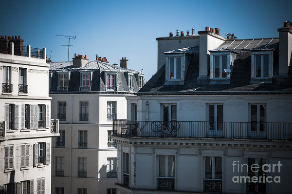 Parisian Rooftops in the Morning - Art Print