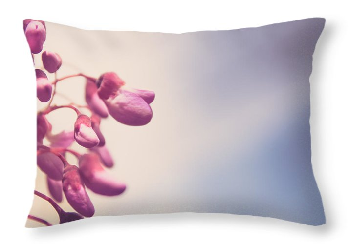 Summer Drops - Throw Pillow