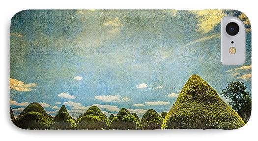 Triangular Trees 001 - Phone Case