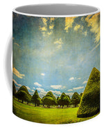Load image into Gallery viewer, Triangular Trees 001 - Mug