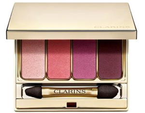Clarins Palette 4 Colors Wet & Dry 4 Color Eyeshadow Palette Smoothing & Long Lasting 0.2 Oz	07 Lovely Rose