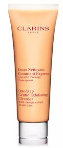 Clarins One Step Gentle Exfoliating Cleanser All Skin Types - With Orange Extract