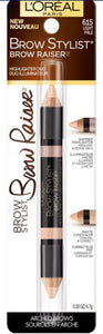 L'oreal Paris Brow Stylist Highlighter Duo - 615 Light Pale - 0.16 Oz / 4.7g