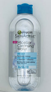 Garnier Skin Active - Micellar Cleansing Water All in 1  Makeup Remover - 13.5 FL OZ / 400ml