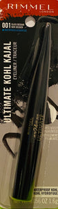 Wholesale Rimmel London Ultimate Kohl Kajal EyeLiner WaterProof  - 001 Black Obsidian - 0.056 OZ 1.6g - $2.50