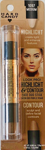 Wholesale - Hard Candy Look Pro! Highlight & Contour - Medium 1097 - 0.092 OZ. / 2.6g each // 0.184 Oz. / 5.2g Total. - 48 Pieces Lot