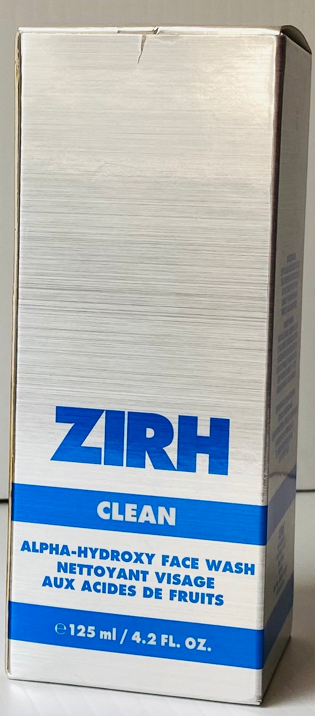 Wholesale - ZIRH - CLEAN - Face Wash Boxed - 125 ml / 4.2 FL. Oz