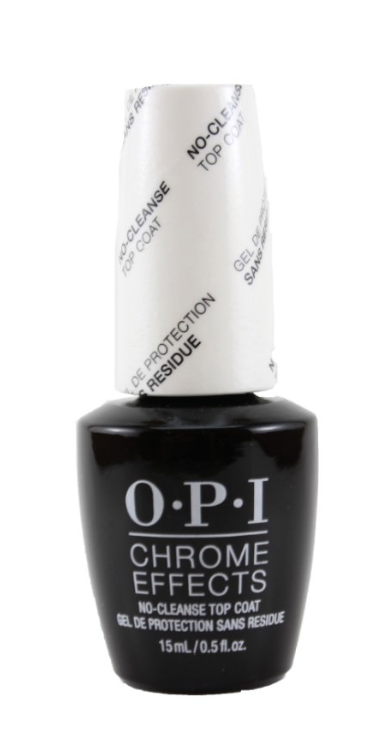 Wholesale O.P.I Chrome Effects No-Cleanse Top Coat 15 mL/0.5 fl. oz 48 pieces lot