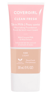 Wholesale Covergril Clean Fresh Skin Milk Foundation 1oz - 540 Light.