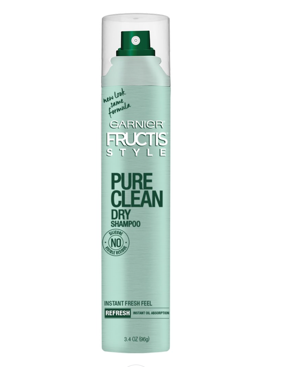 Garnier Fructis Style - Pure Clean Dry Shampoo - Instant Fresh Fell and Oil Absorption - 3.4 OZ (96g)