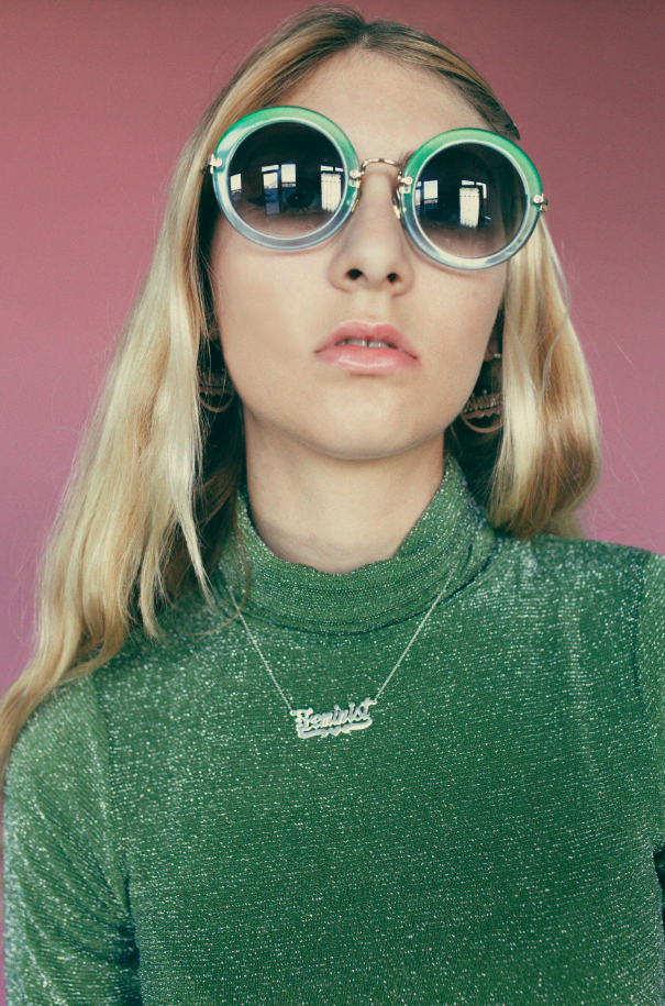 Georgia Glitter Turtleneck - Dolores Haze