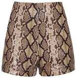 Python Pin-Up Shorts