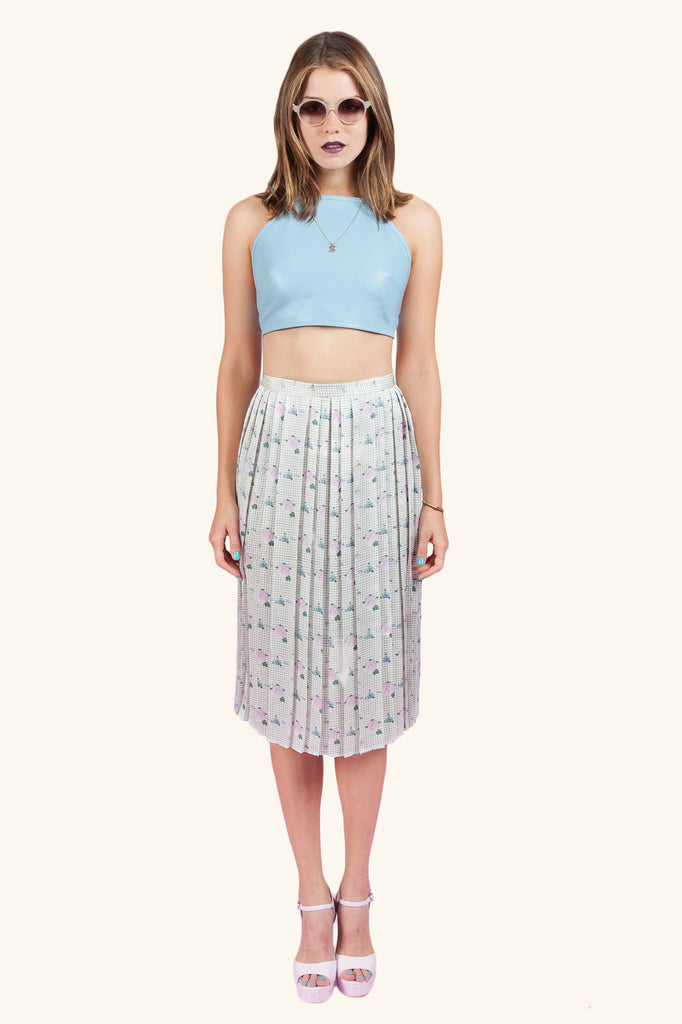 ALEXANDRA PLEATED MIDI - Dolores Haze