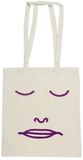 Dan Flanagan x Dolores Haze Closed Eyes Tote Bag - Dolores Haze