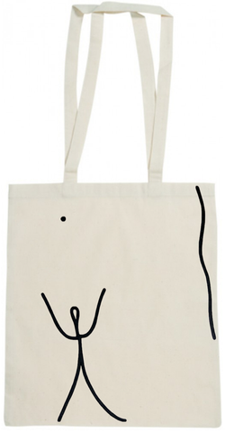Dan Flanagan x Dolores Haze Closed Eyes Tote Bag