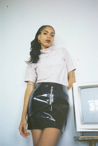 DYLAN LACE-UP SKIRT