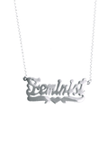 FEMINIST NECKLACE SILVER