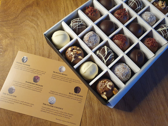 The Classic Collection- Chocolate Truffles