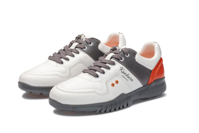 KANKURA GOLF MEN'S CHALLENGE 01 - WHITE/GREY | GOLF SPORT SHOES