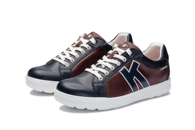 KANKURA GOLF MEN'S DRIVE 02 - NAVY/WINE | GOLF SPORT SHOES