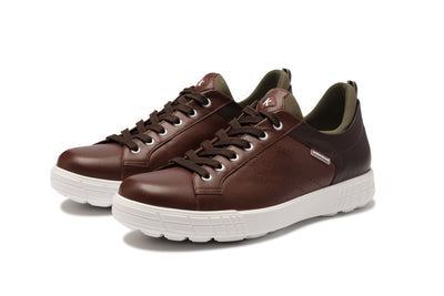 KANKURA GOLF MEN'S DRIVE 03 - DK BROWN/KHAKI | GOLF SPORT SHOES