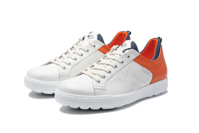 KANKURA GOLF MEN'S DRIVE 03 - WHITE/ORANGE | GOLF SPORT SHOES