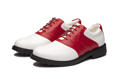 KANKURA GOLF MEN'S SCOTTSDALE 06 - WHITE/RED | GOLF SPORT SHOES