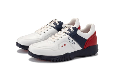 KANKURA GOLF MEN'S CHALLENGE 01 - WHITE/NAVY/RED | GOLF SPORT SHOES