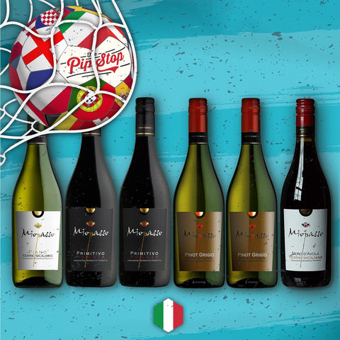 Miopasso Italy Mixed Wine Case from The Pip Stop. Featuring a mix of red & white wines.
