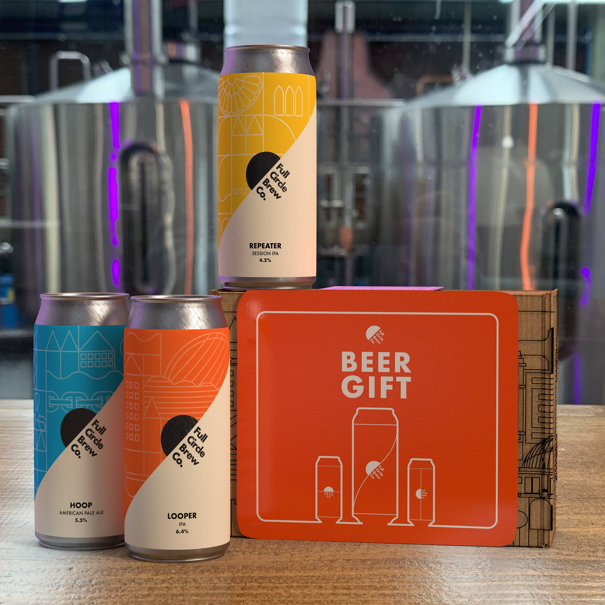 Full Circle Brew Co - 3 Beer (Beer Gift)