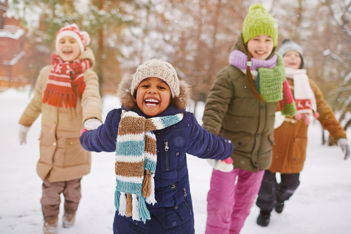 How to Dress Children Warmly For Snow & Cold Weather