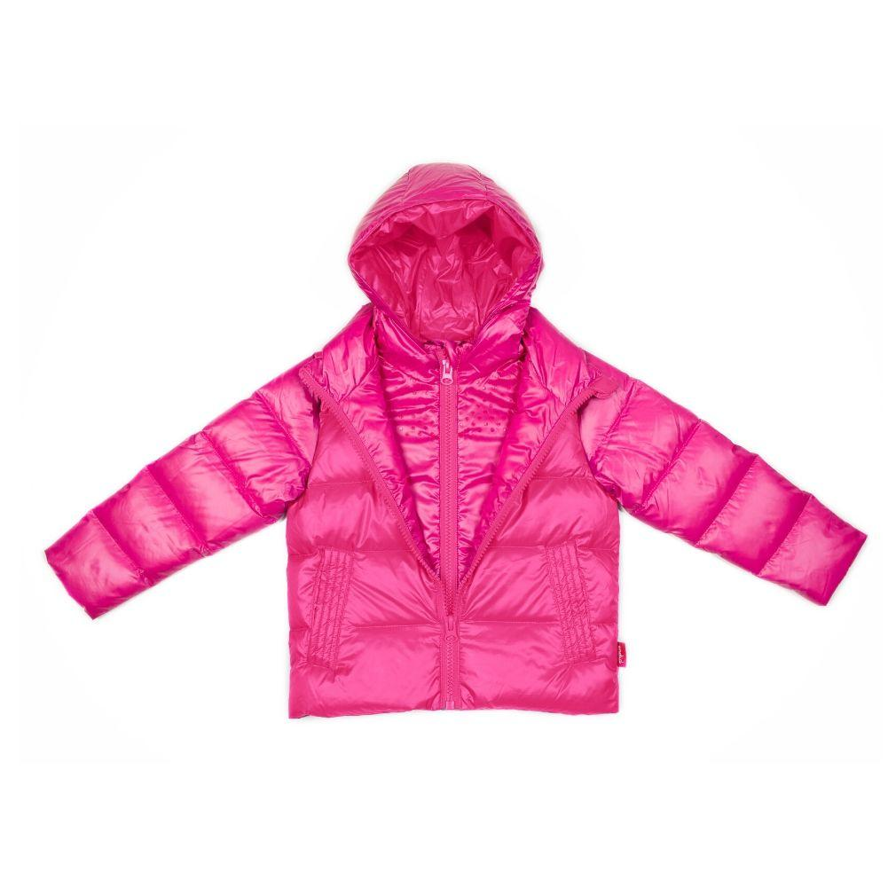 Car Seat Safety Road Coat®Down - Fuchsia