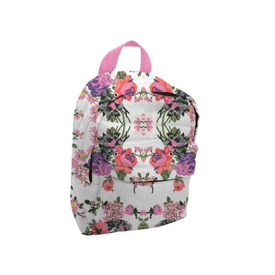 Mini Backpack - Lt Pink / Flower Print