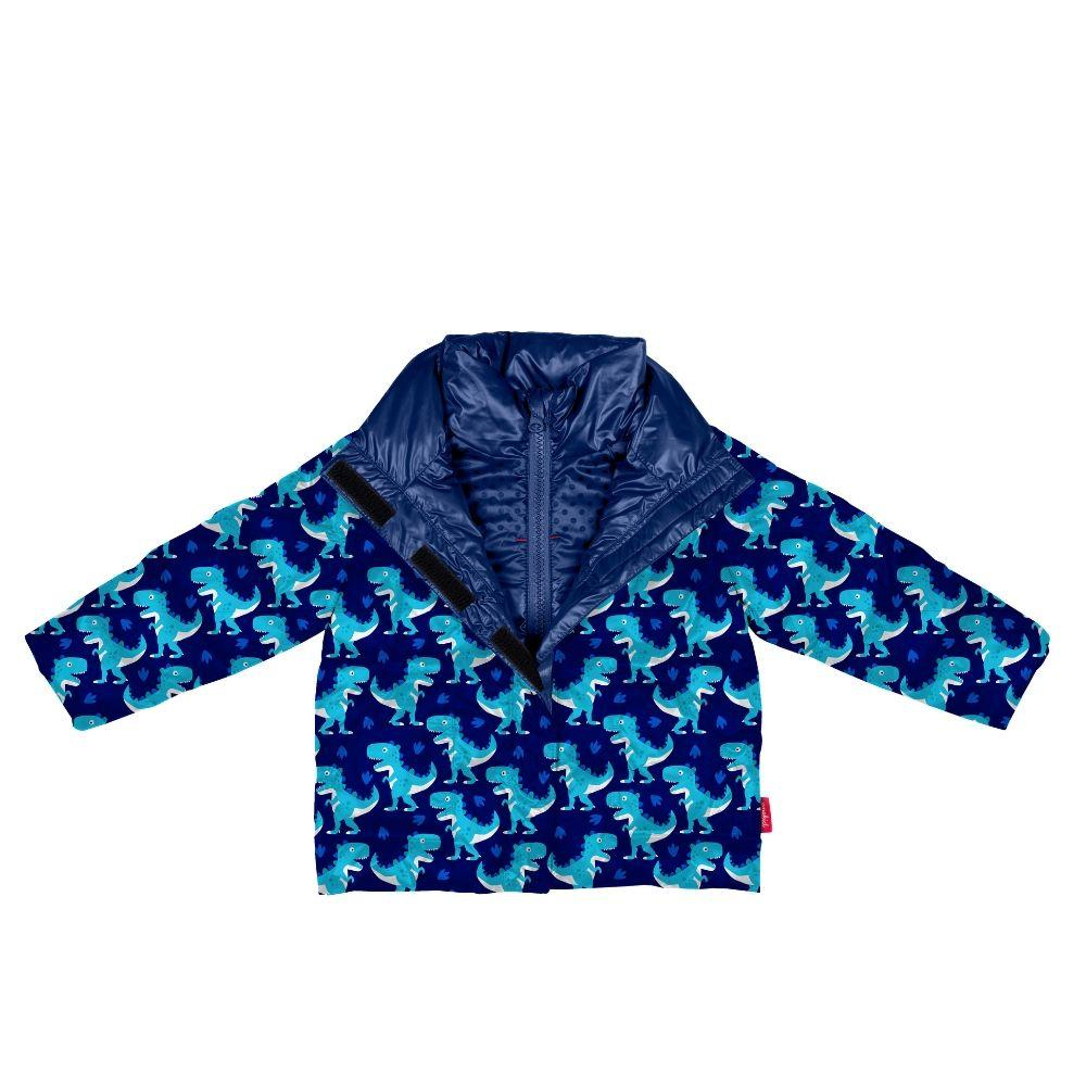 Car Seat Safety Road Coat®Vegan - Navy / Raptor Print