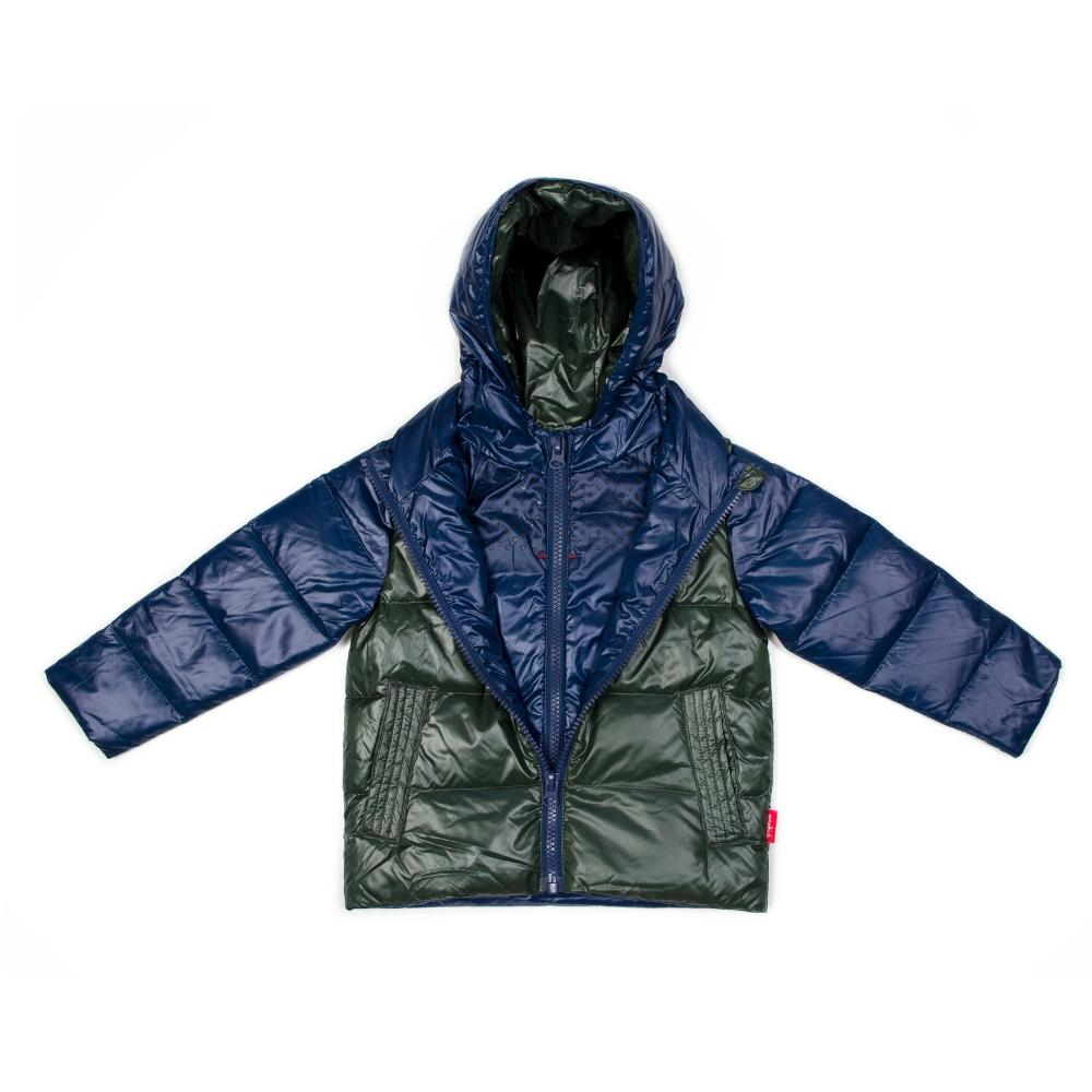 Car Seat Safety Road Coat®Down Jacket - Navy/Olive