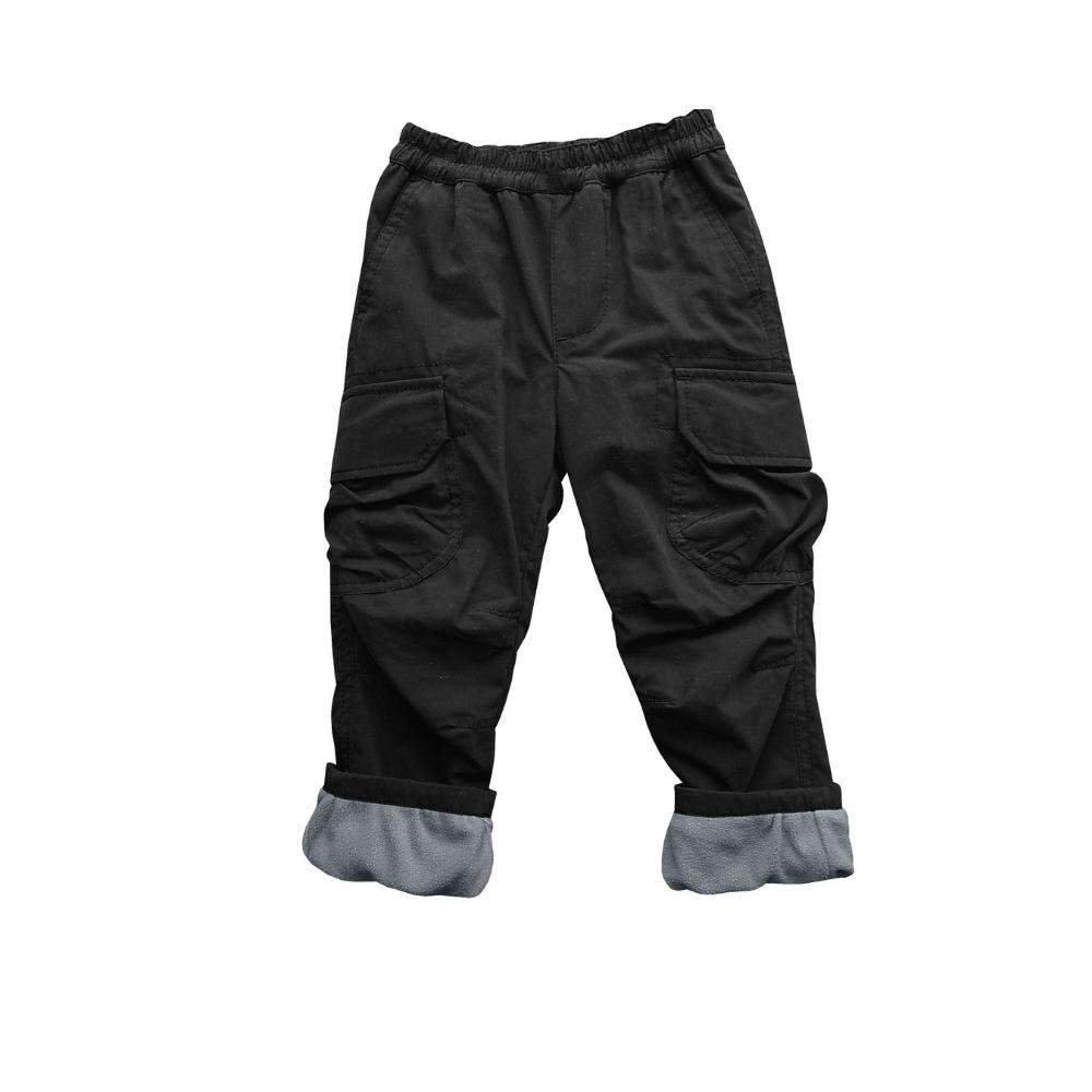 Micro Fleece Lined Cozy Pant - Black
