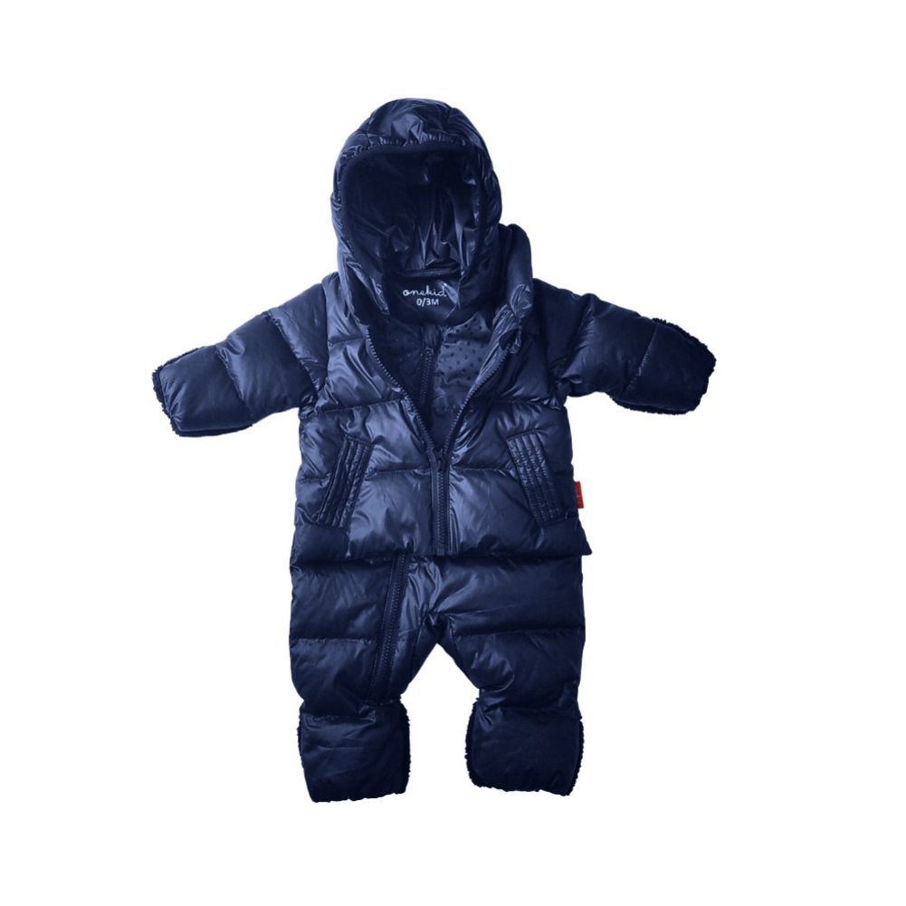 Car Seat Safety Infant Road Coat® Snow Suit - Navy