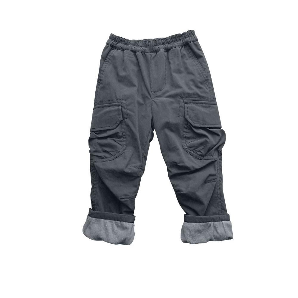 Micro Fleece Lined Cozy Pant - Platinum