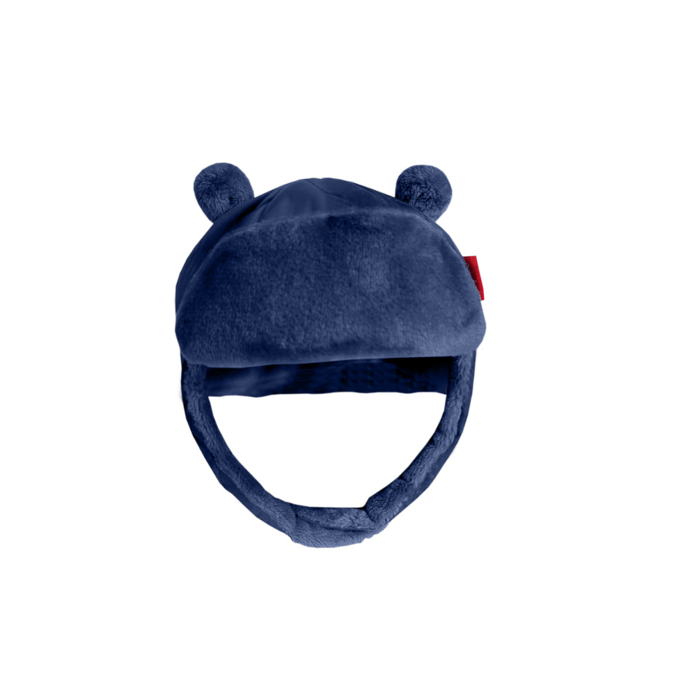 Quilted Alpine Bomber Hat - Navy