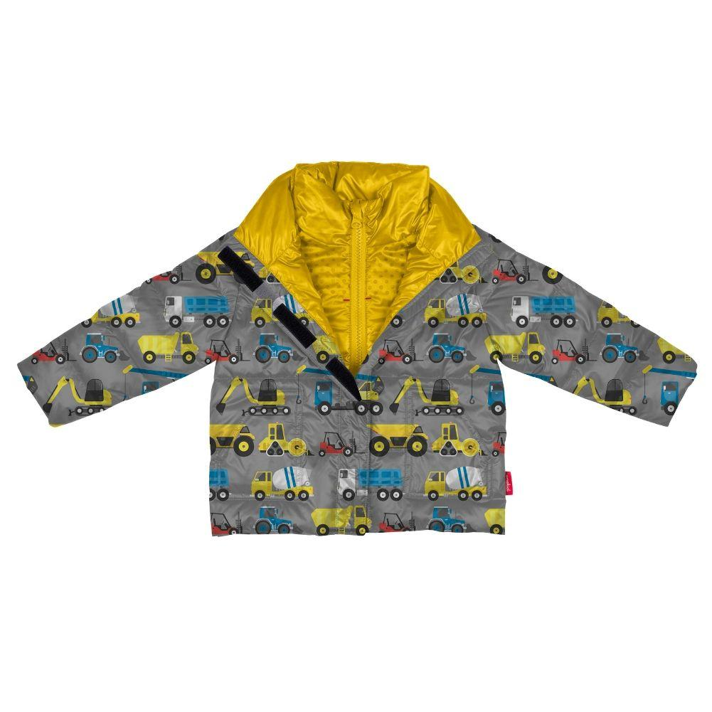 Car Seat Safety Road Coat®Vegan Jacket - CONSTRUCTION