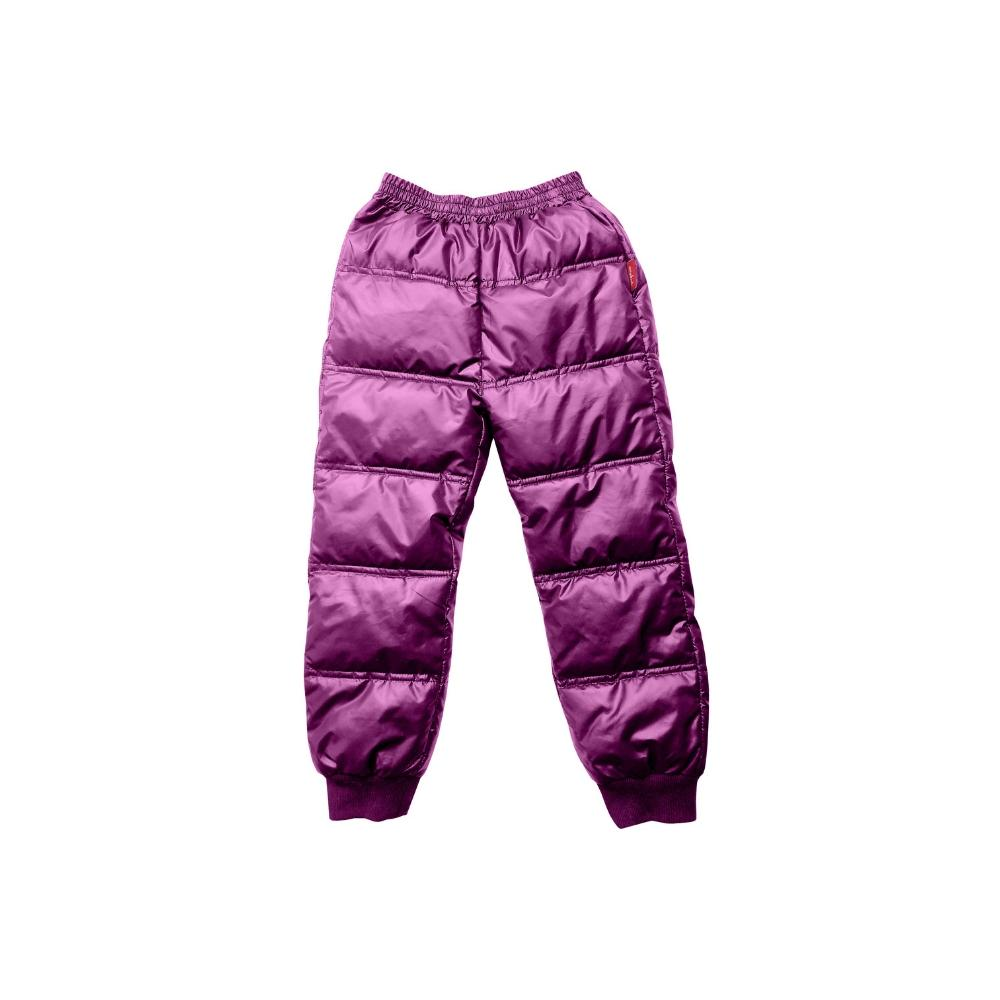 Soft Pack-able Snow Pant - Plum