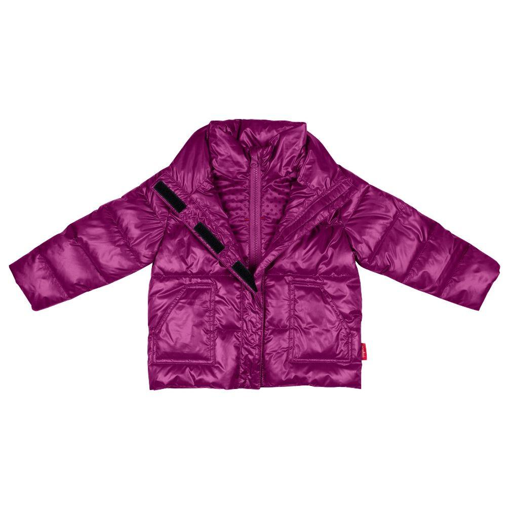 Car Seat Safety Road Coat®Vegan Jacket - PLUM